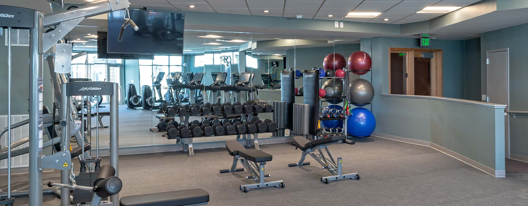 One Ardmore Apartment Homes - Ardmore, PA - Fitness Center